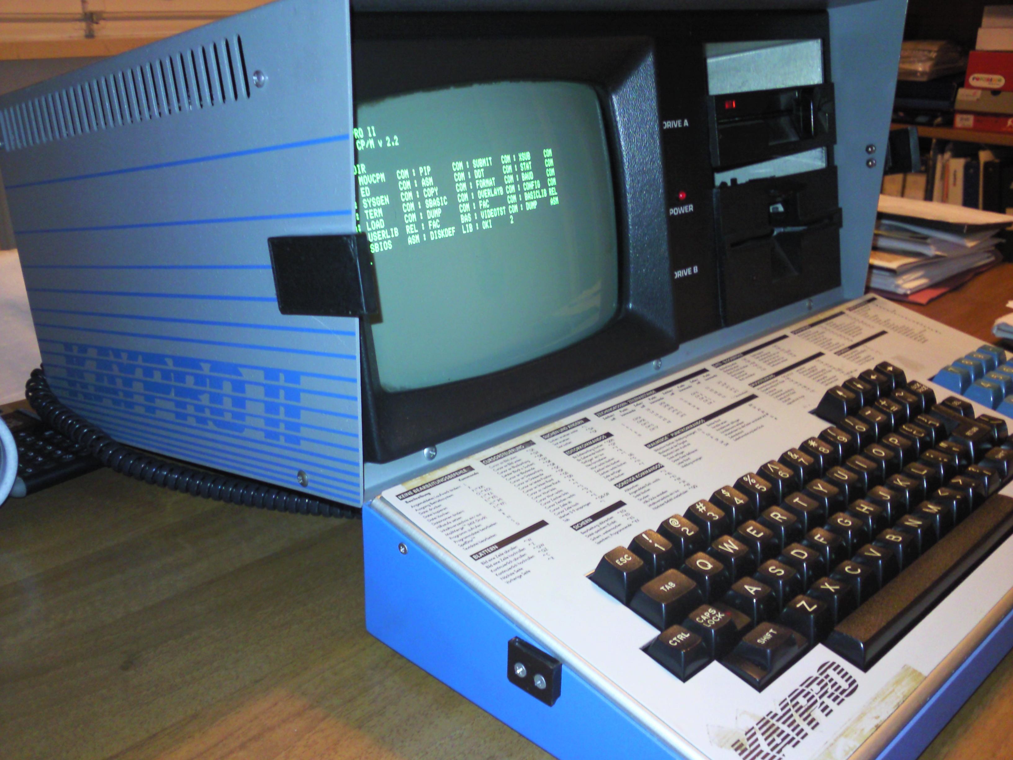 vintage kaypro 11 computer
