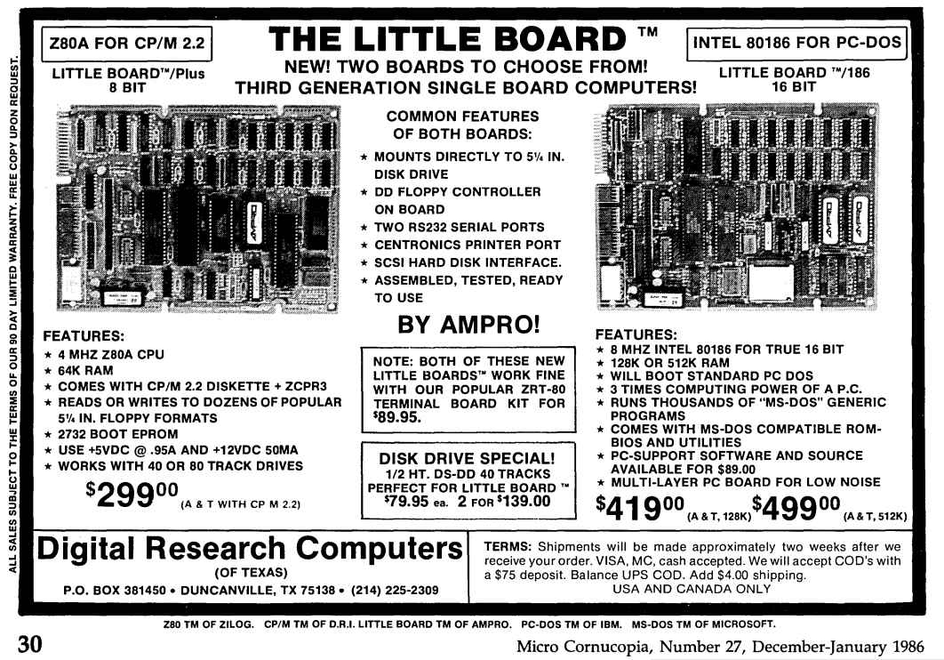 Ampro Little Board 186